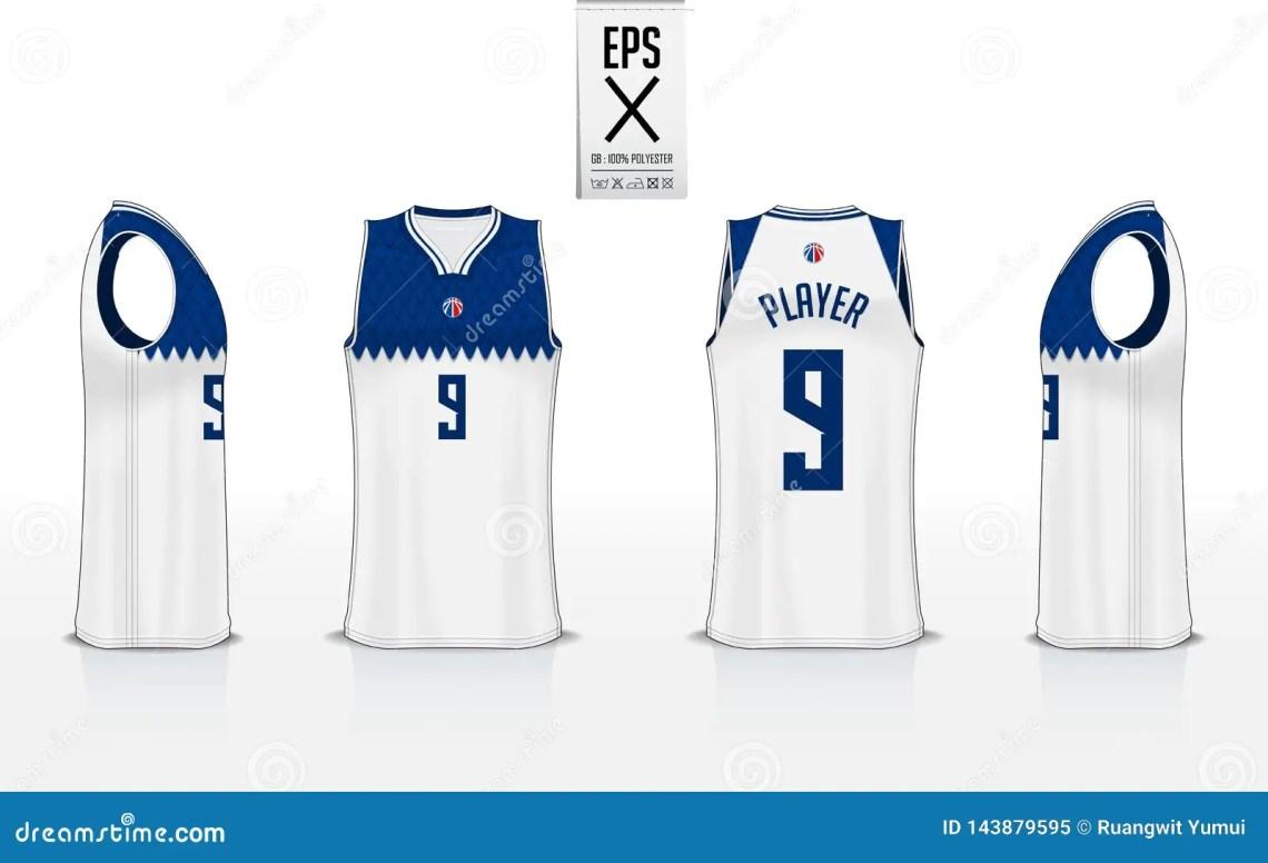 Download Basketball Uniform Mockup Template Design For Basketball ...