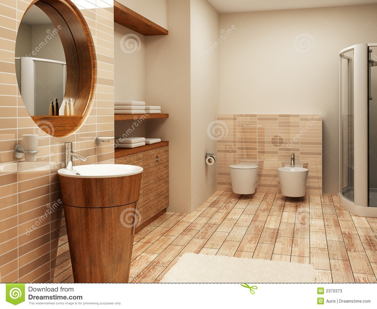 bathroom interior stock image. image of bidet, modern - 2370373