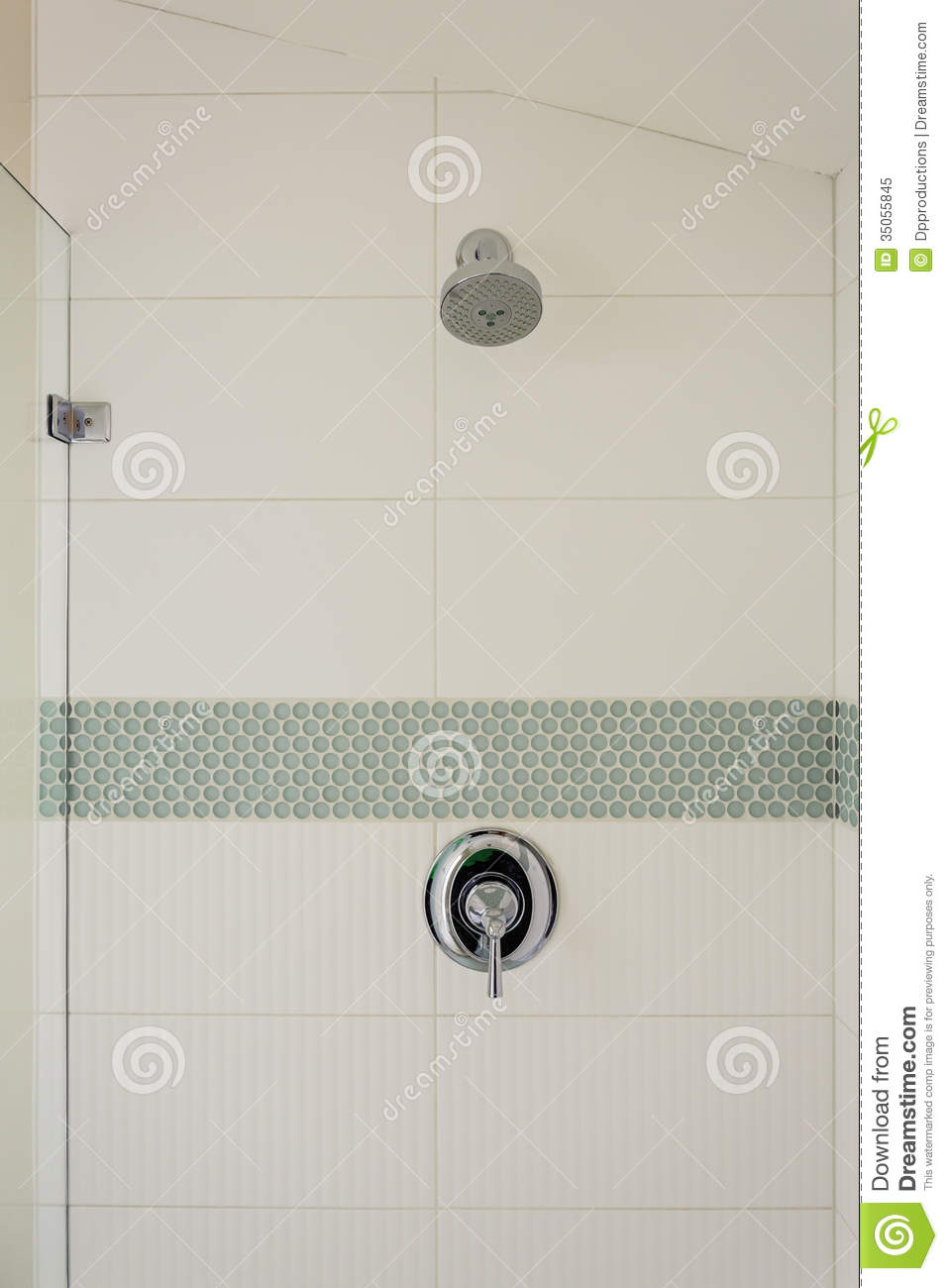 Bathroom Shower And Fixture Stock Image Image 35055845