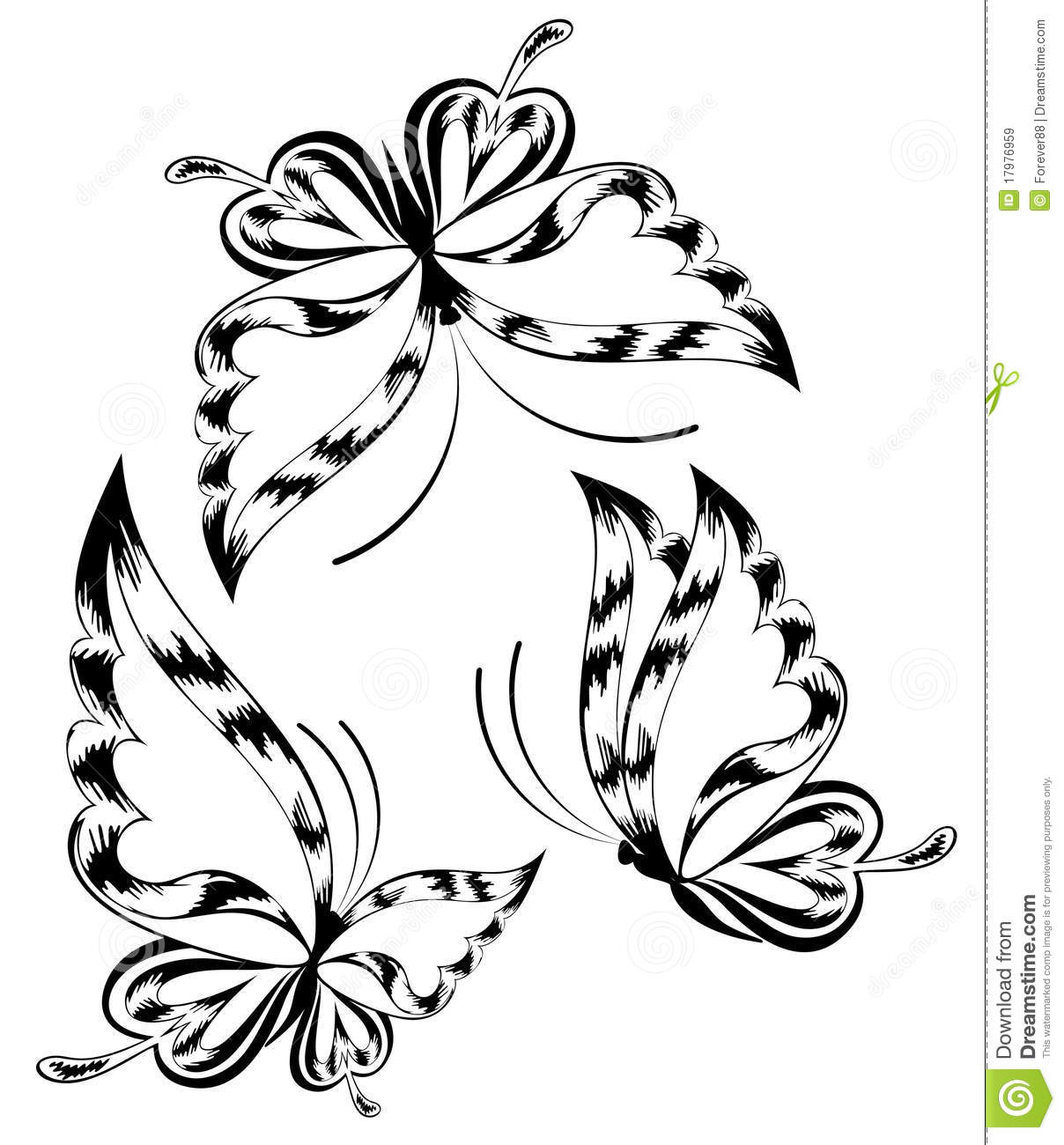 Beautiful Butterfly Stock Vector Image Of Wild Array