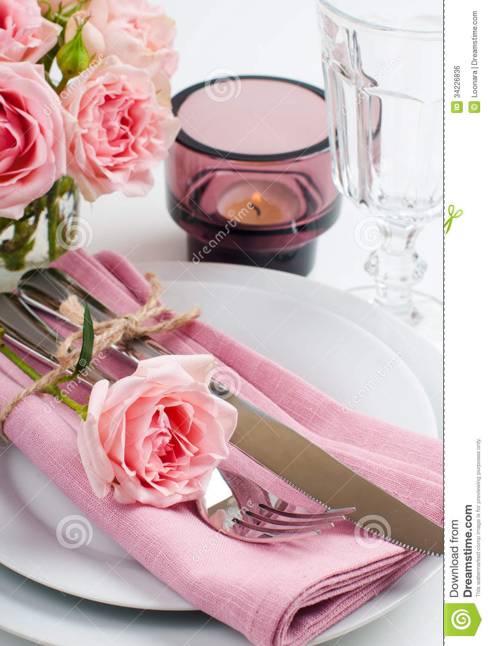 Beautiful Candles Background