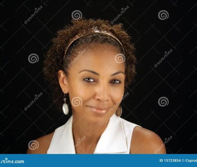 Beautiful Mature Black Woman Headshot 1