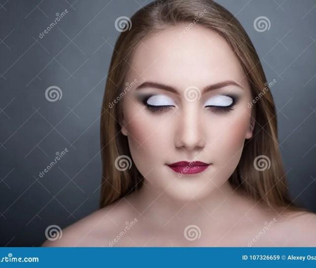 Beautiful Necked Woman