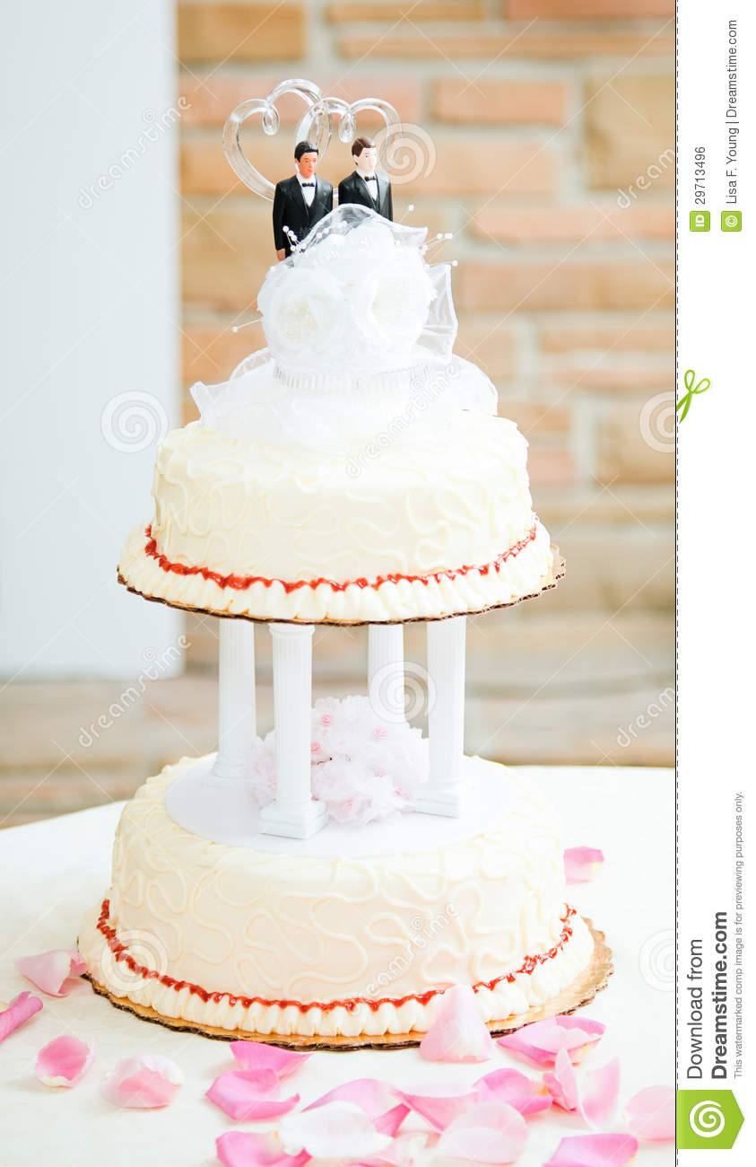 Two Grooms Cake Topper