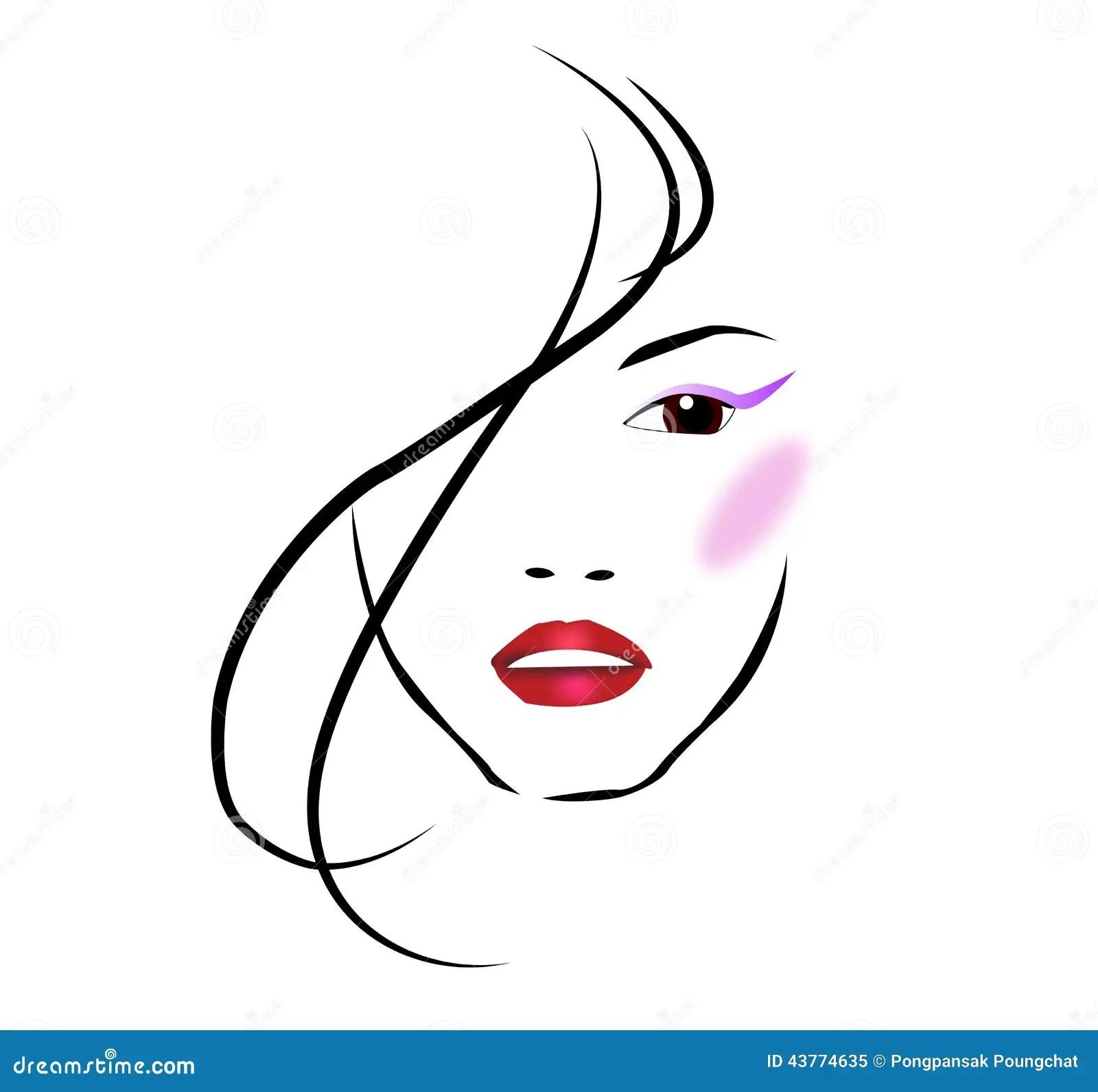 Beauty Salon Stock Vector Illustration Of Beautiful