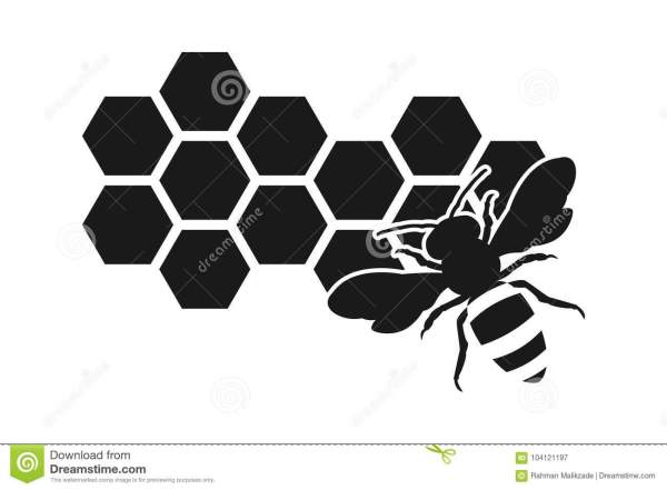 Bee Silhouette Stock Illustrations 4849 Bee Silhouette