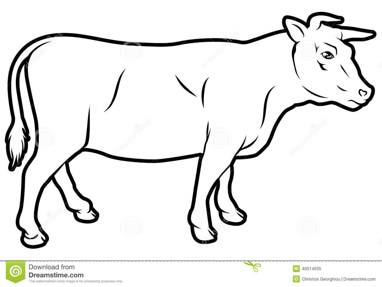 Beef Cow Illustration Stock Vector Illustration Of Pack