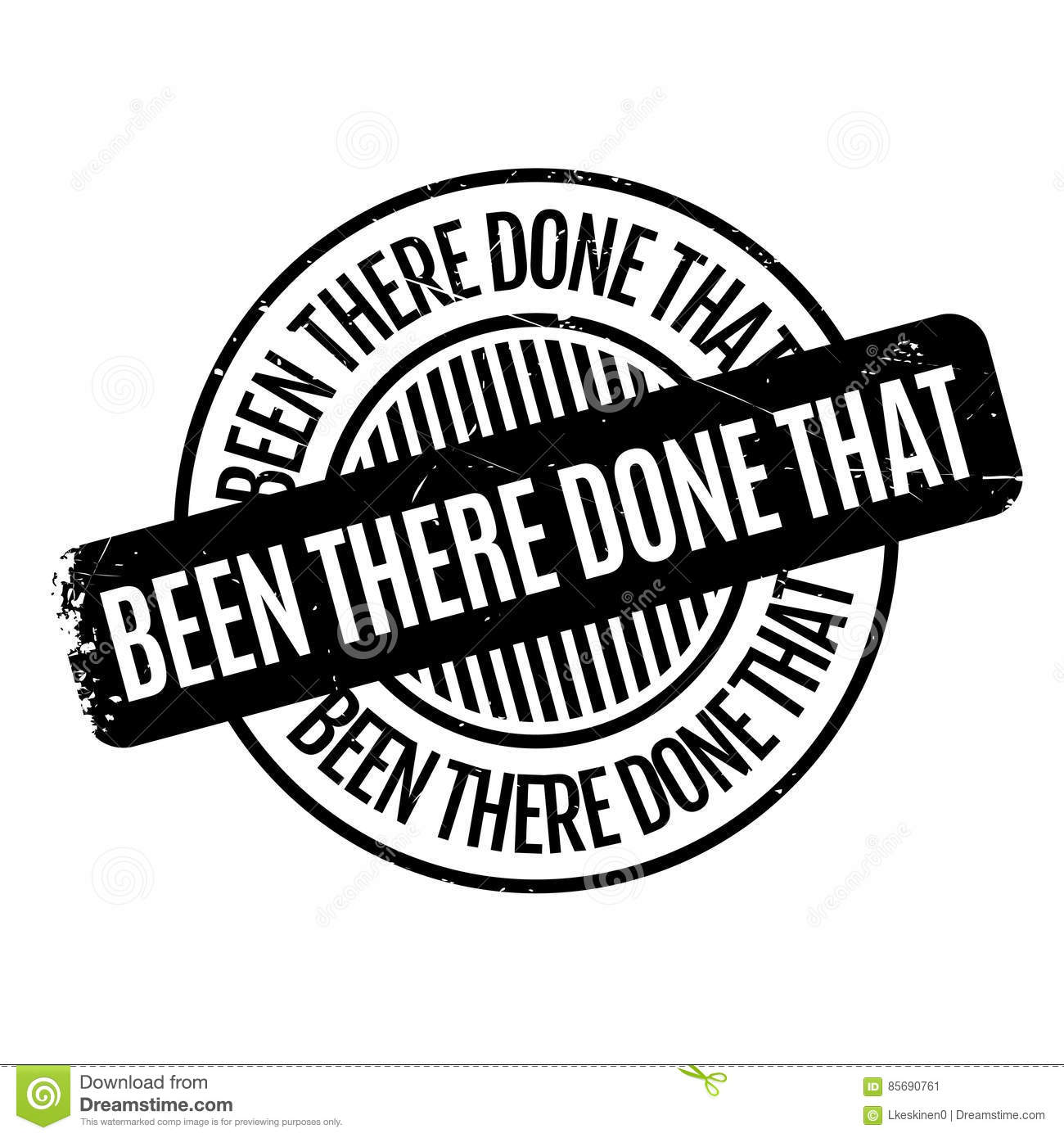 Done Rubber Stamp Stock Photo