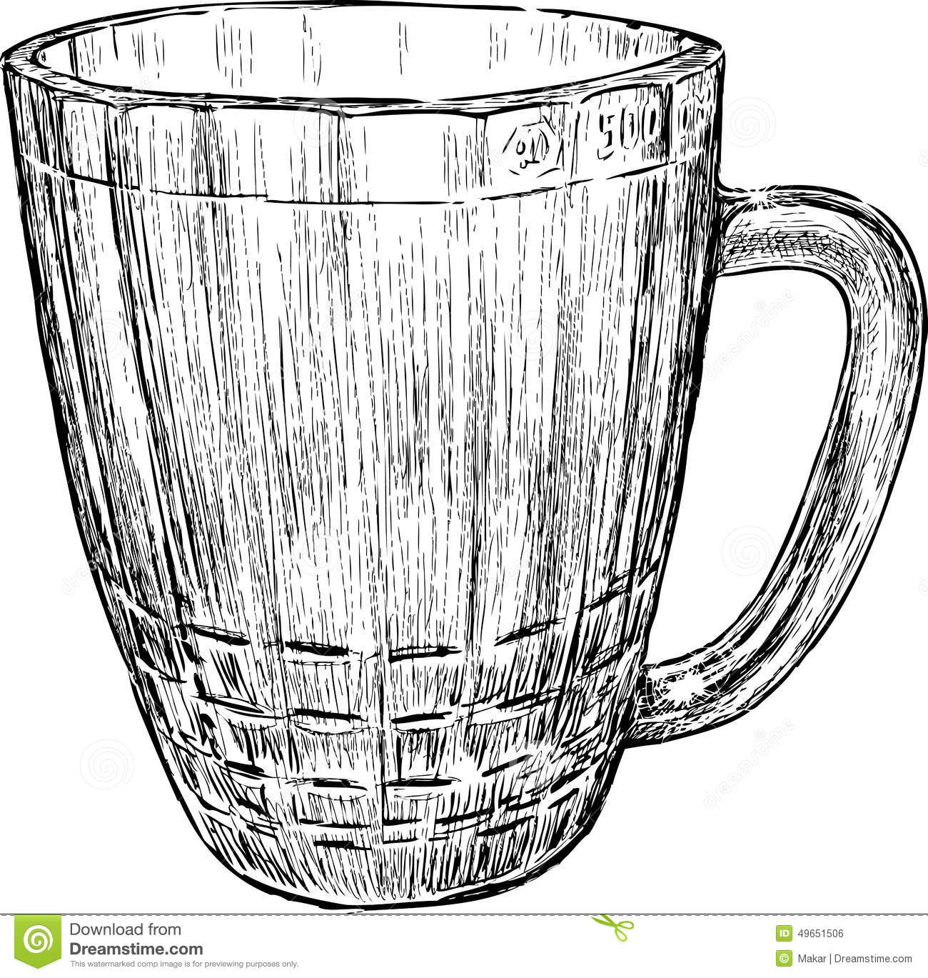 Beer Mug Stock Vector Illustration Of Clean Toby Pint