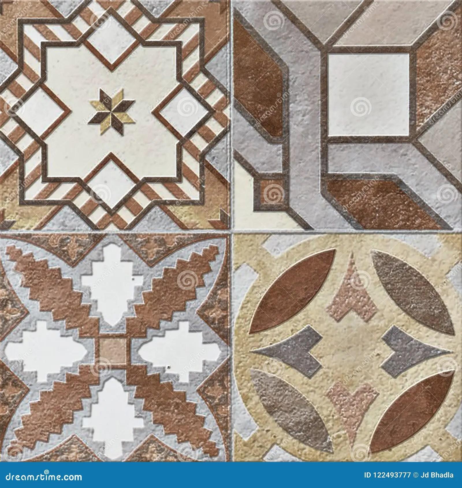 https www dreamstime com beige mosaic tiles design beautiful decor high resolution floor rustic wall image122493777