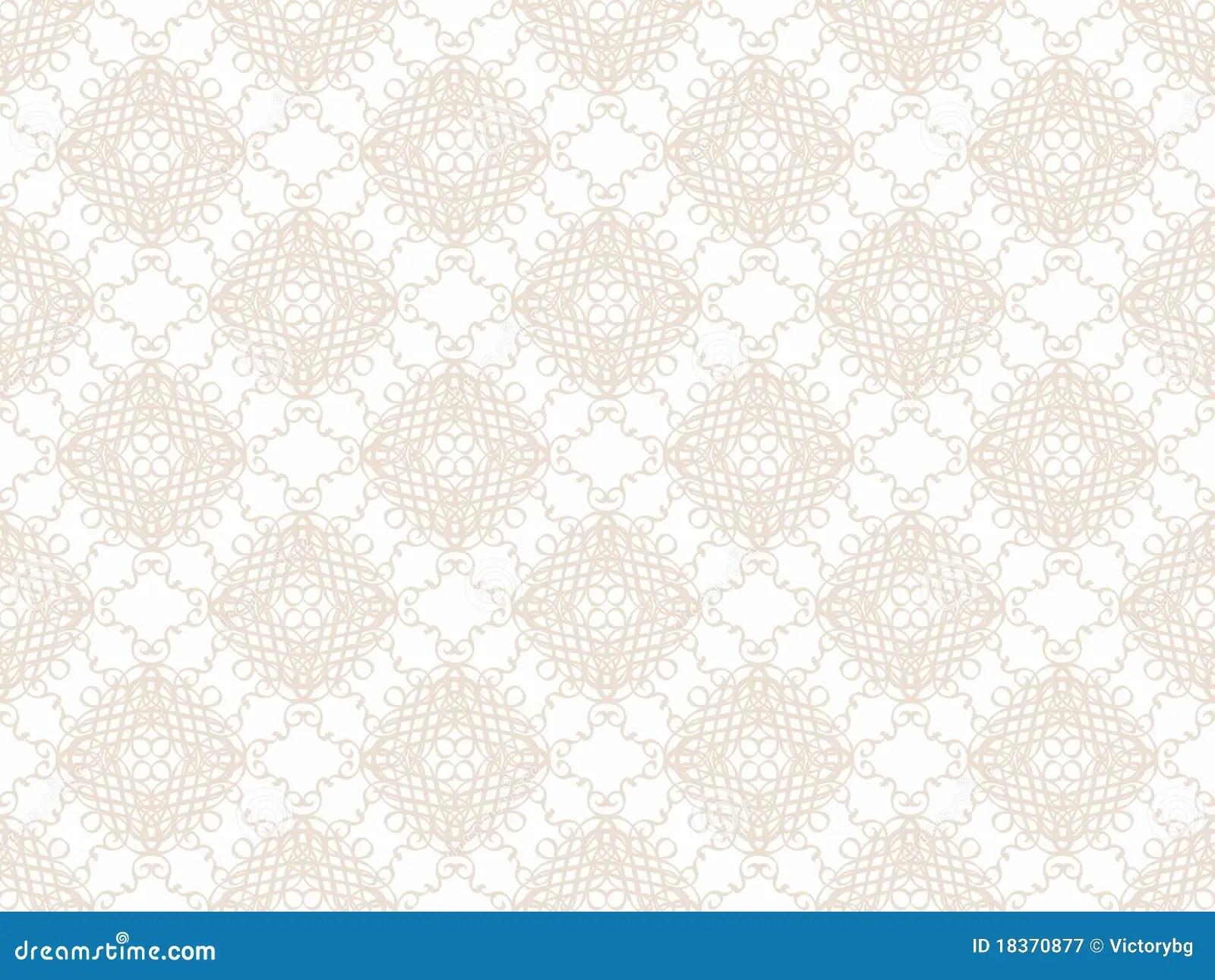 Pattern Beige Wallpaper