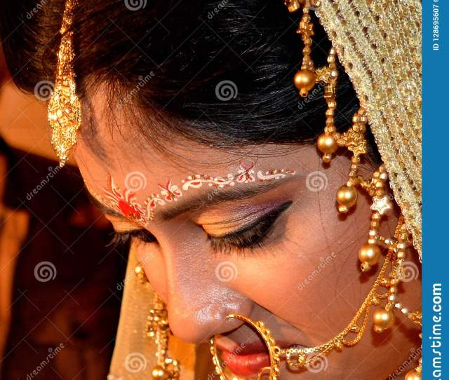 Bengali Beauty In Marriage