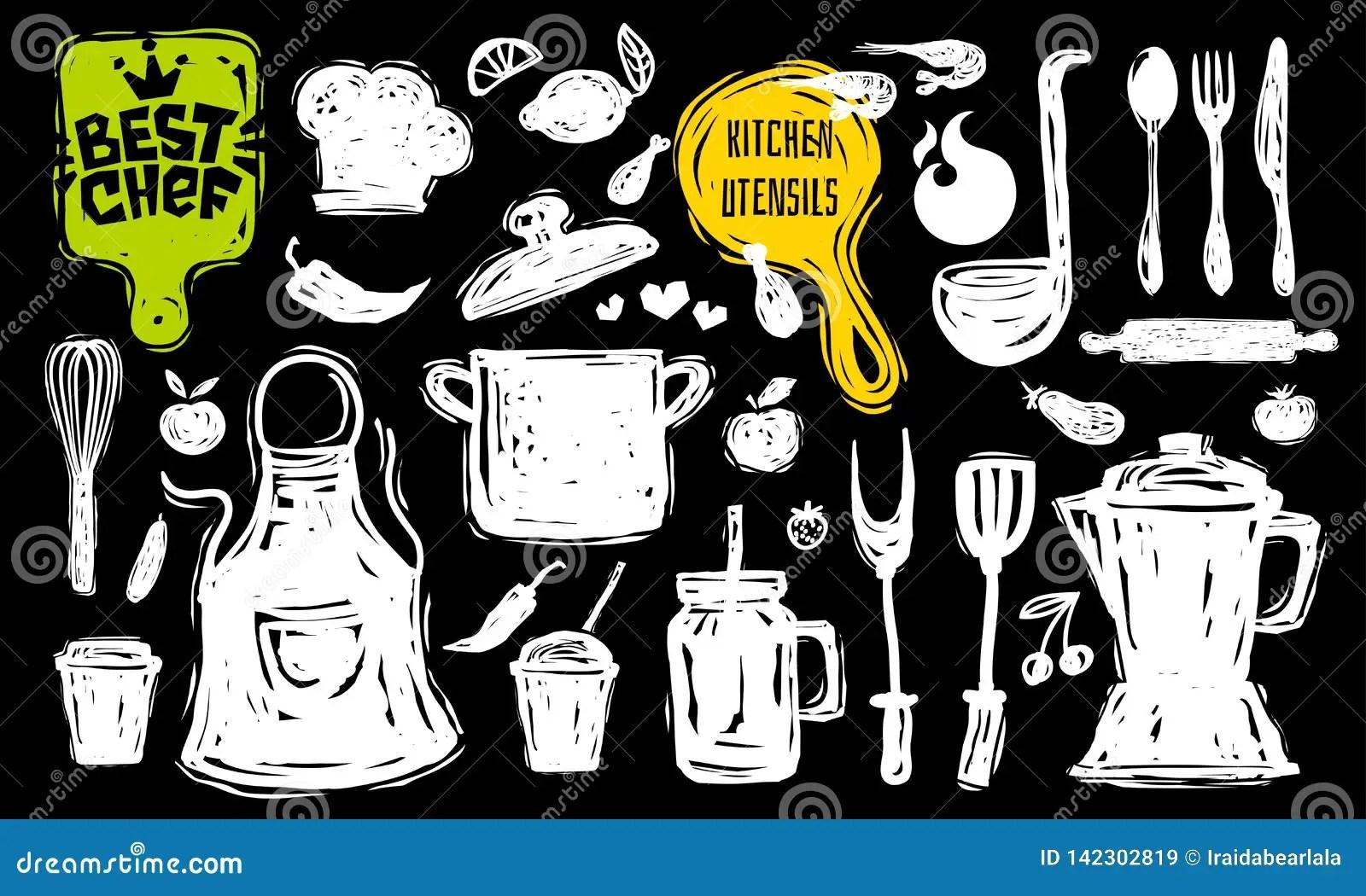 Best Chef Culinary School Logo Design Label Sticker Poster