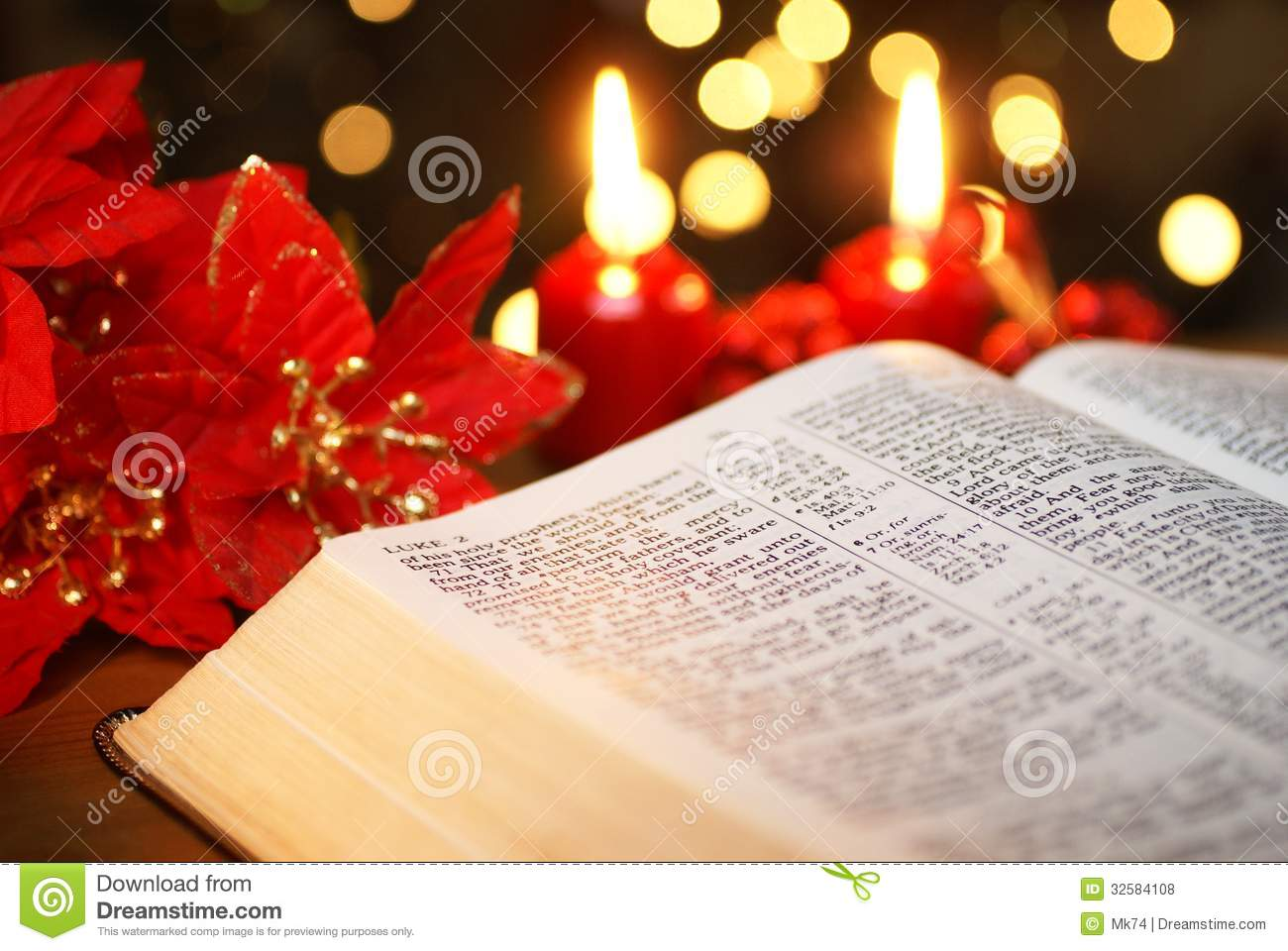 Bible Detail Stock Photo Image Of Celebration Xmas