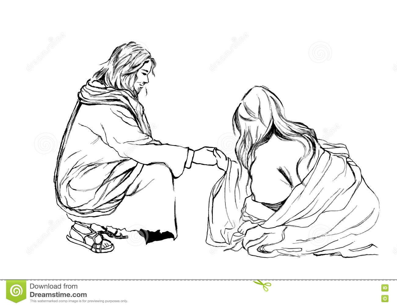 Bible Stories In John 8 About Jesus And Adulteress Hand