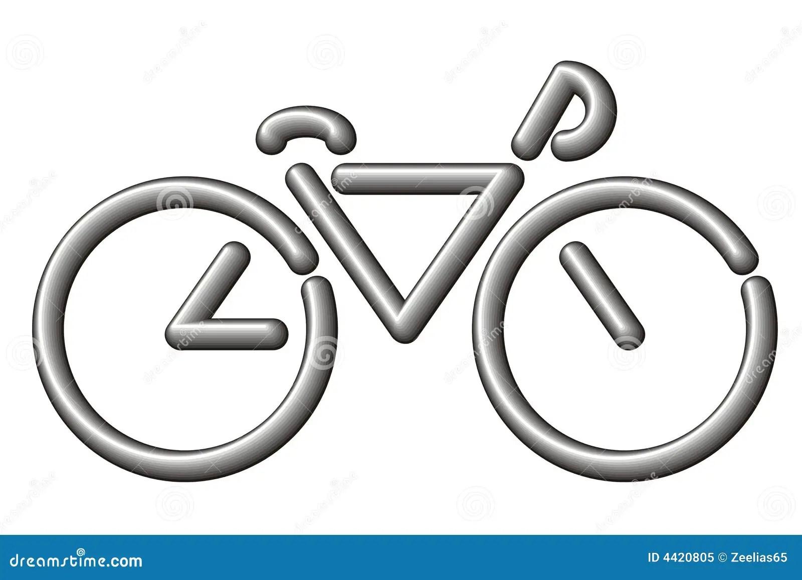 Bici Stilizzata Illustrazioni Vettoriali E Clipart Stock