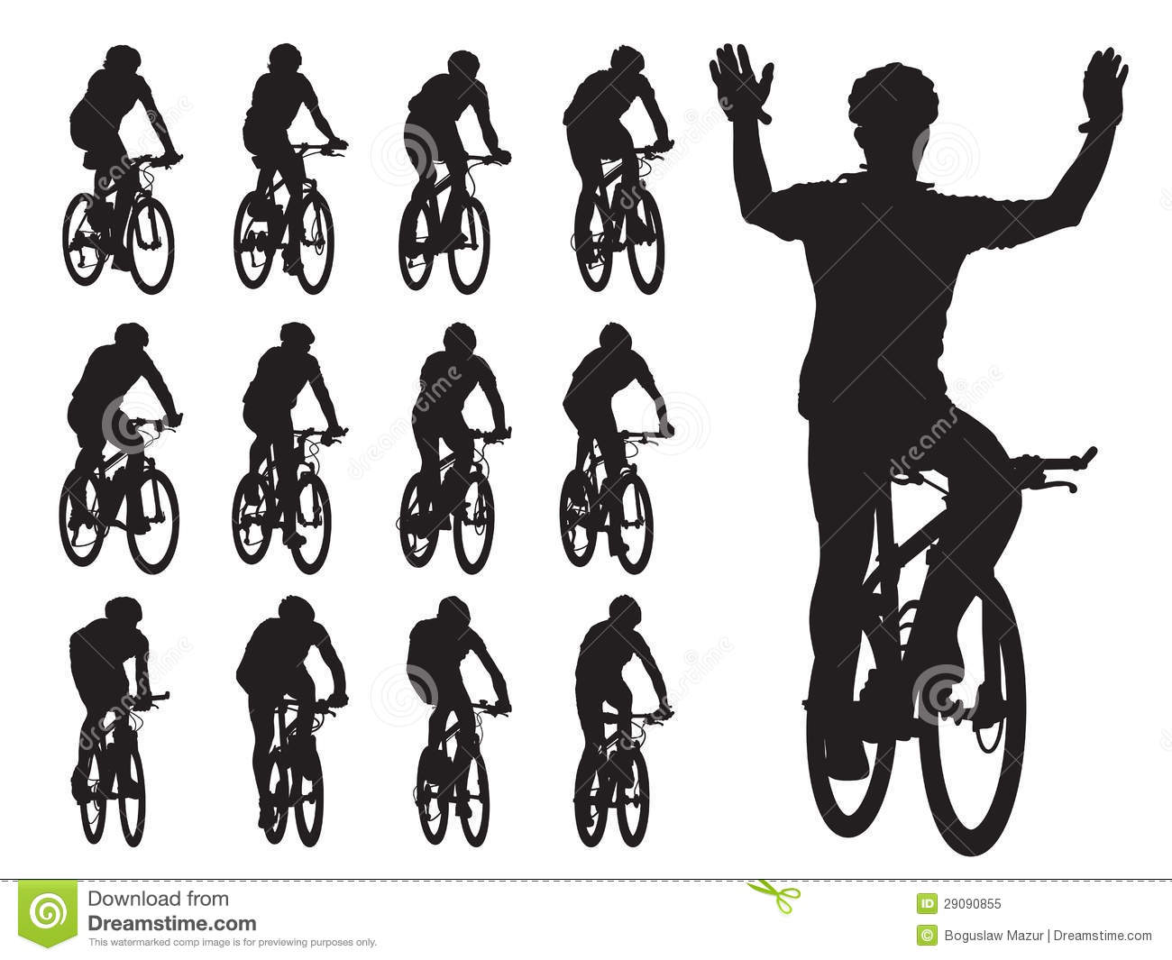 Bike Race Royalty Free Stock Photo