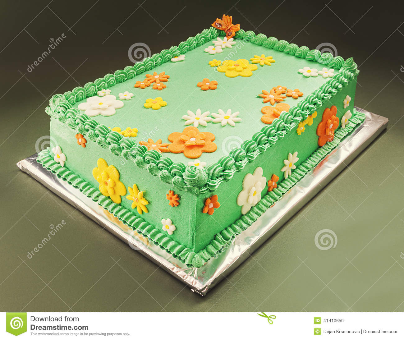 Birthday Cake Stock Photo Image Of Event Cooking Style