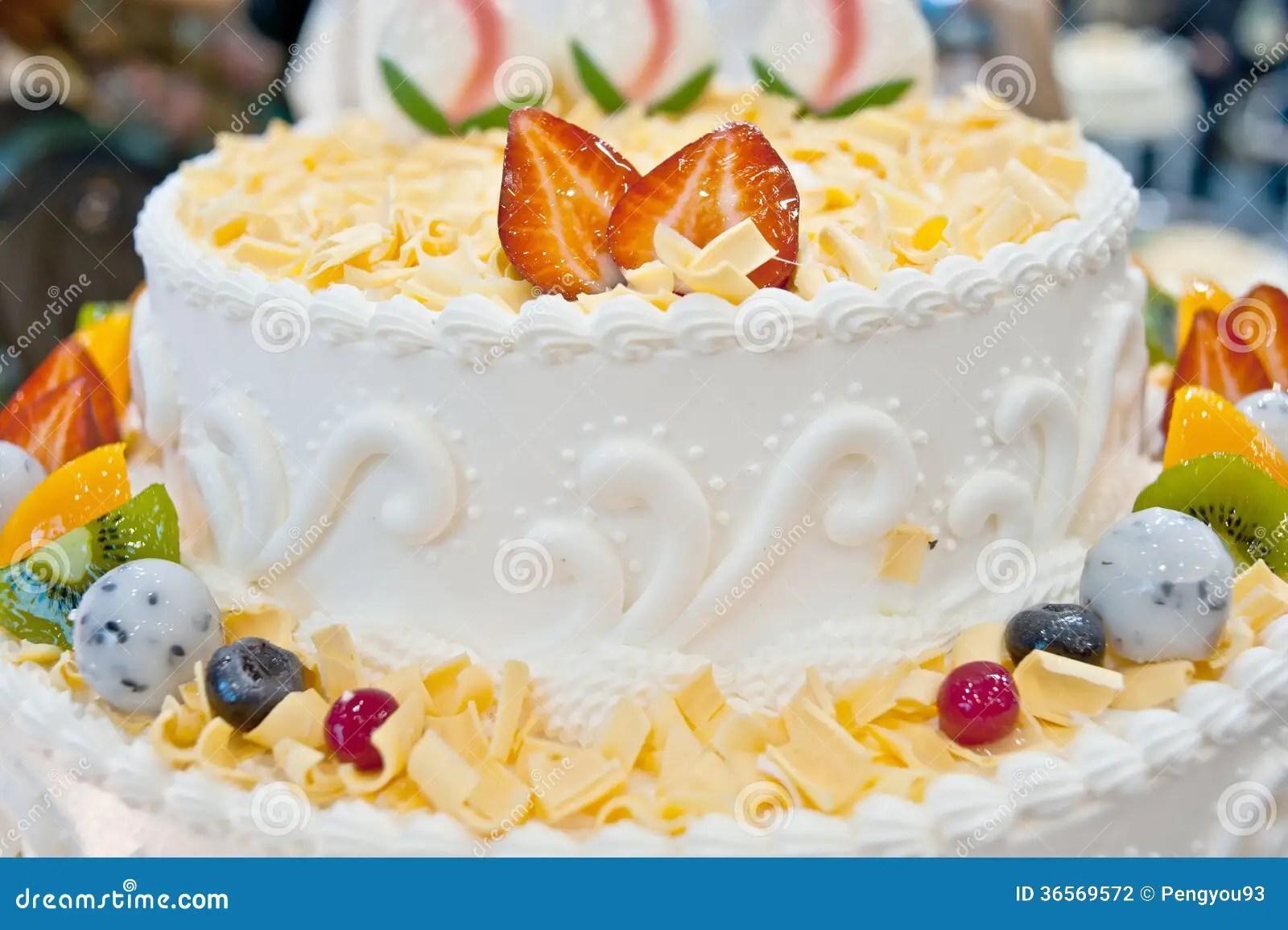 Birthday Cakes Pastries Design Stock Photo Image 36569572