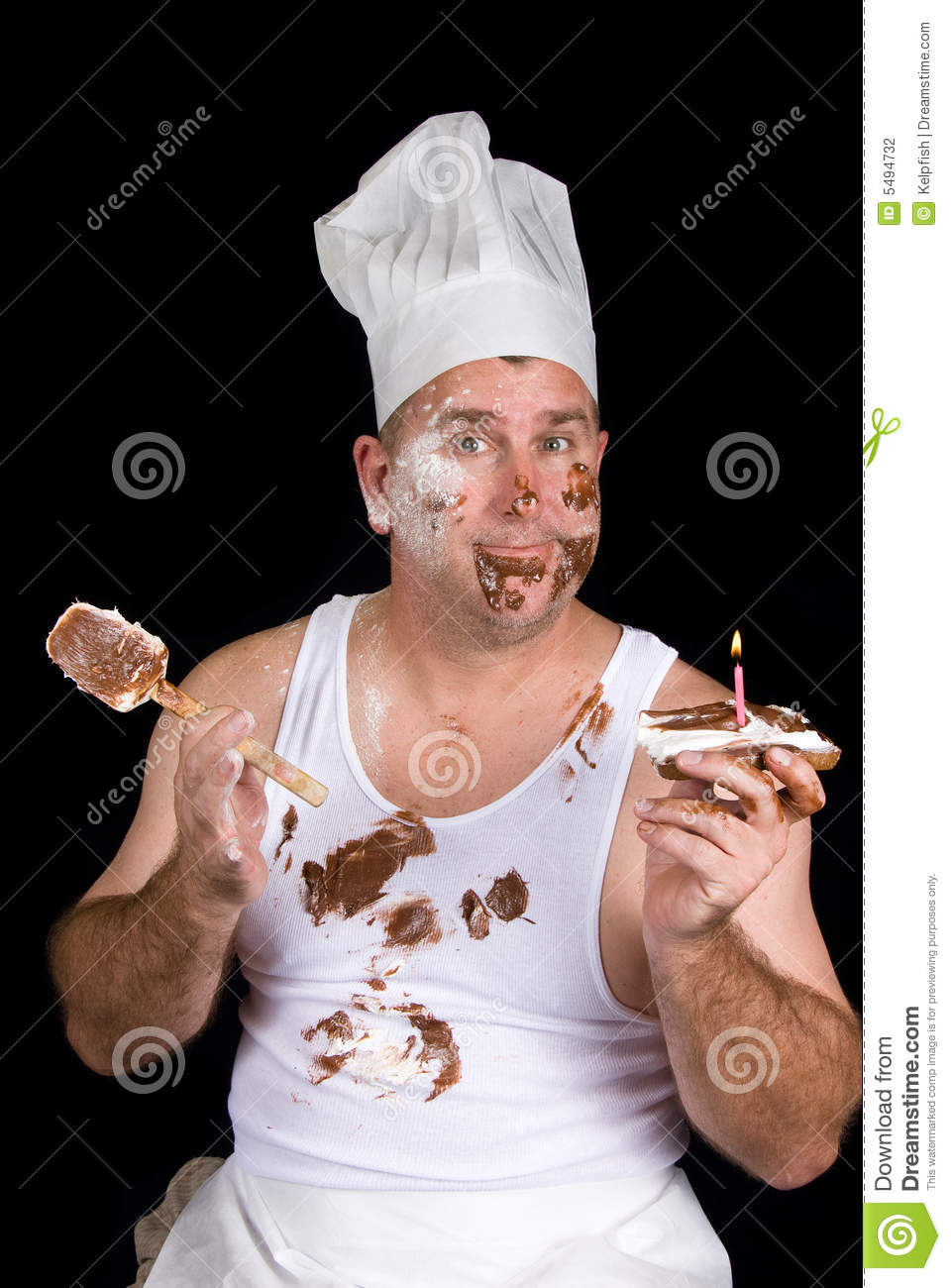 Birthday Chef Stock Photography Image 5494732