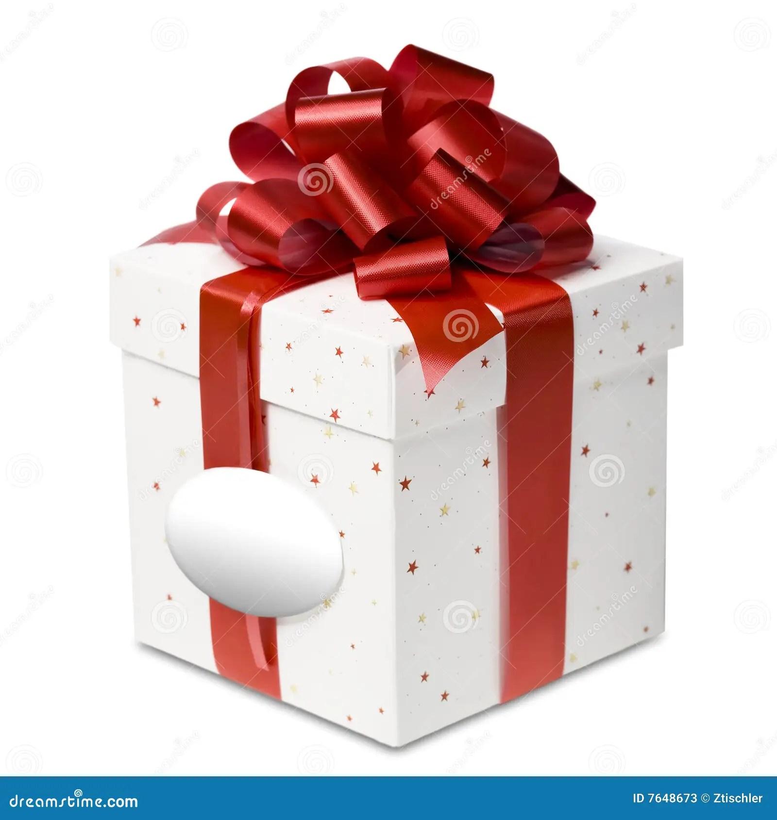 Birthday And Christmas Gift Box Stock Image Image Of