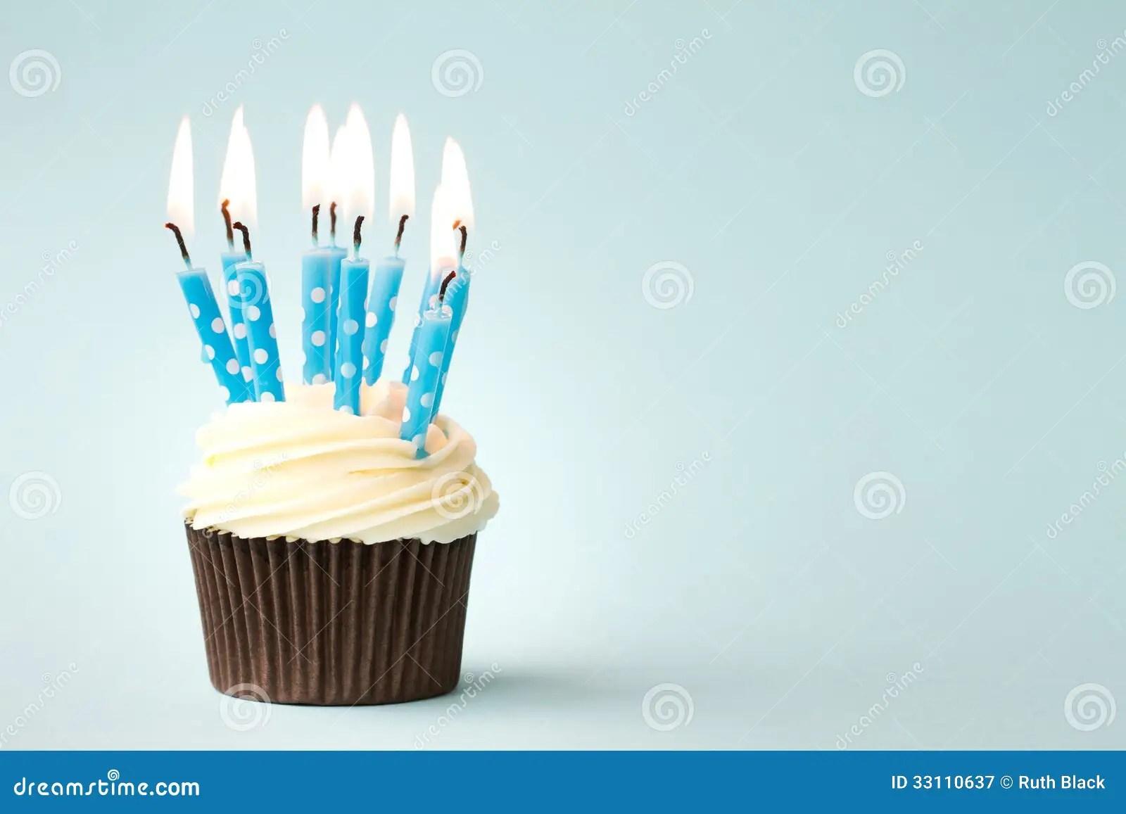 Birthday Cupcake Royalty Free Stock Photography Image