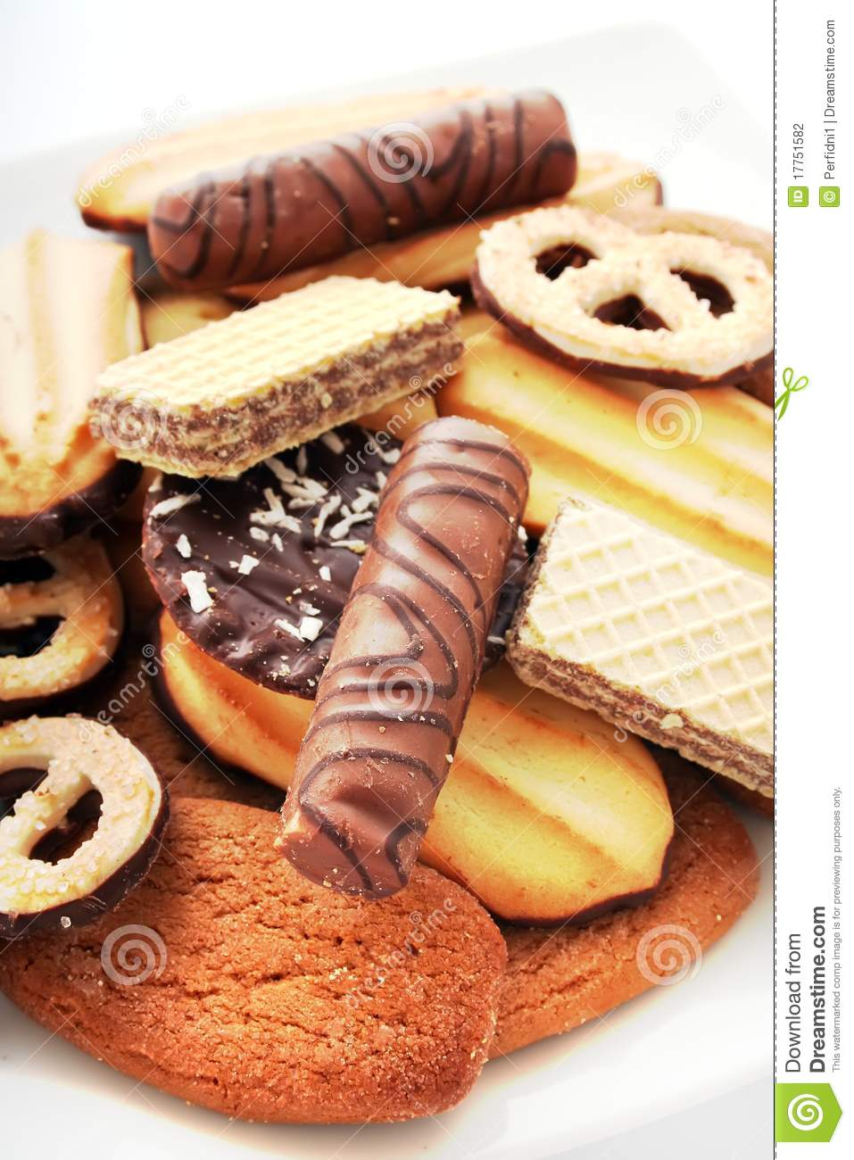 Biscuits Cookies Cakes Stock Photography Image 17751582