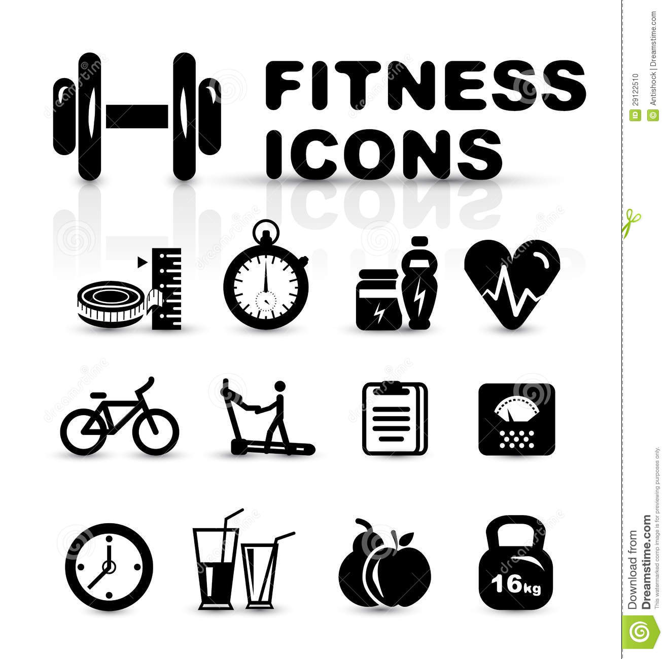 Scale Balance Gym Equipment Icon Vector Illustration