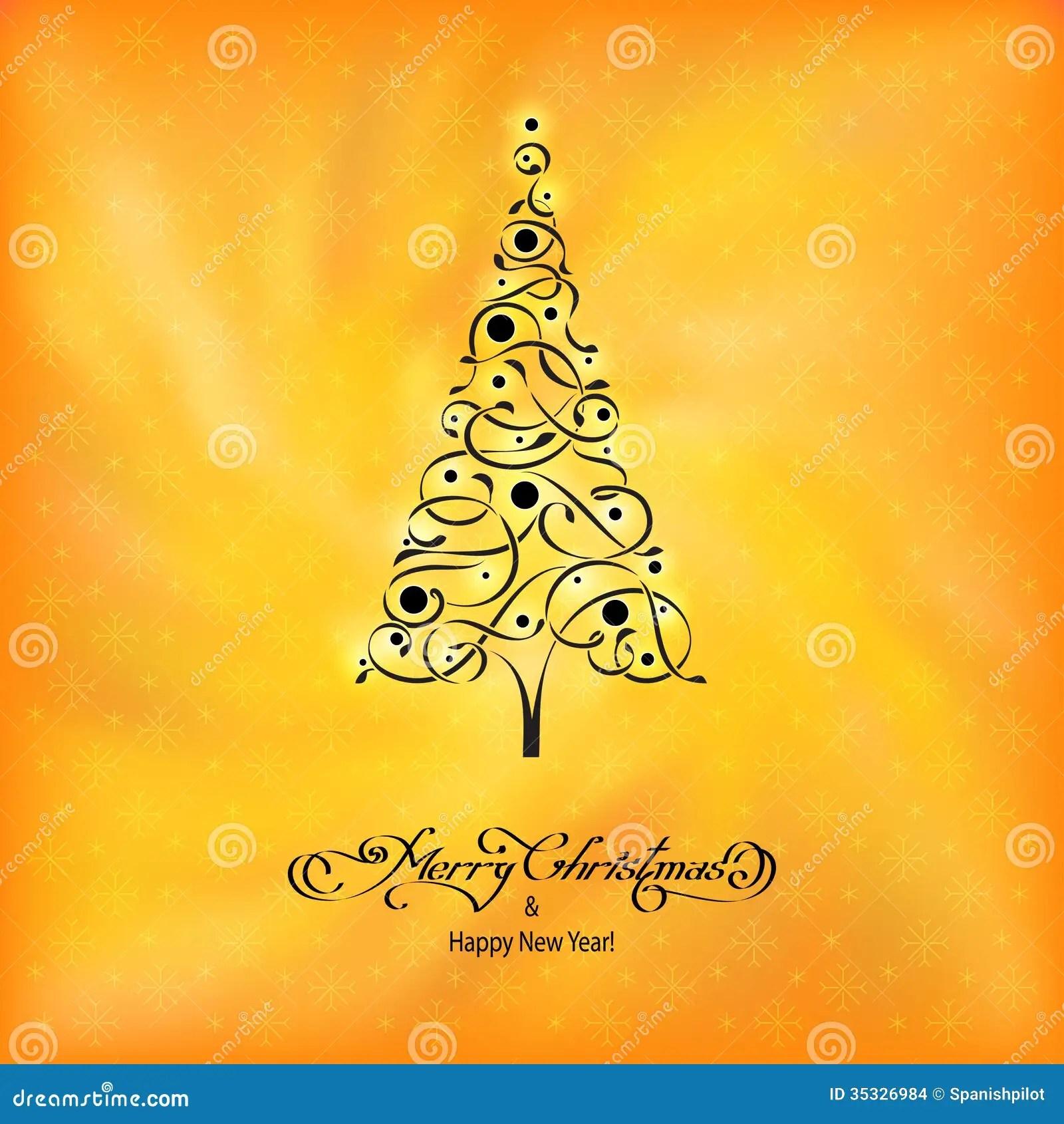 Black Ornamental Tree Stock Photo Image Of Creative