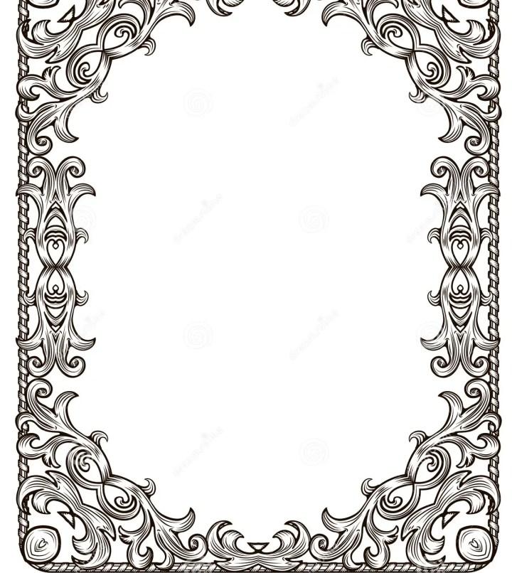 Black White Frames Border | Framess.co