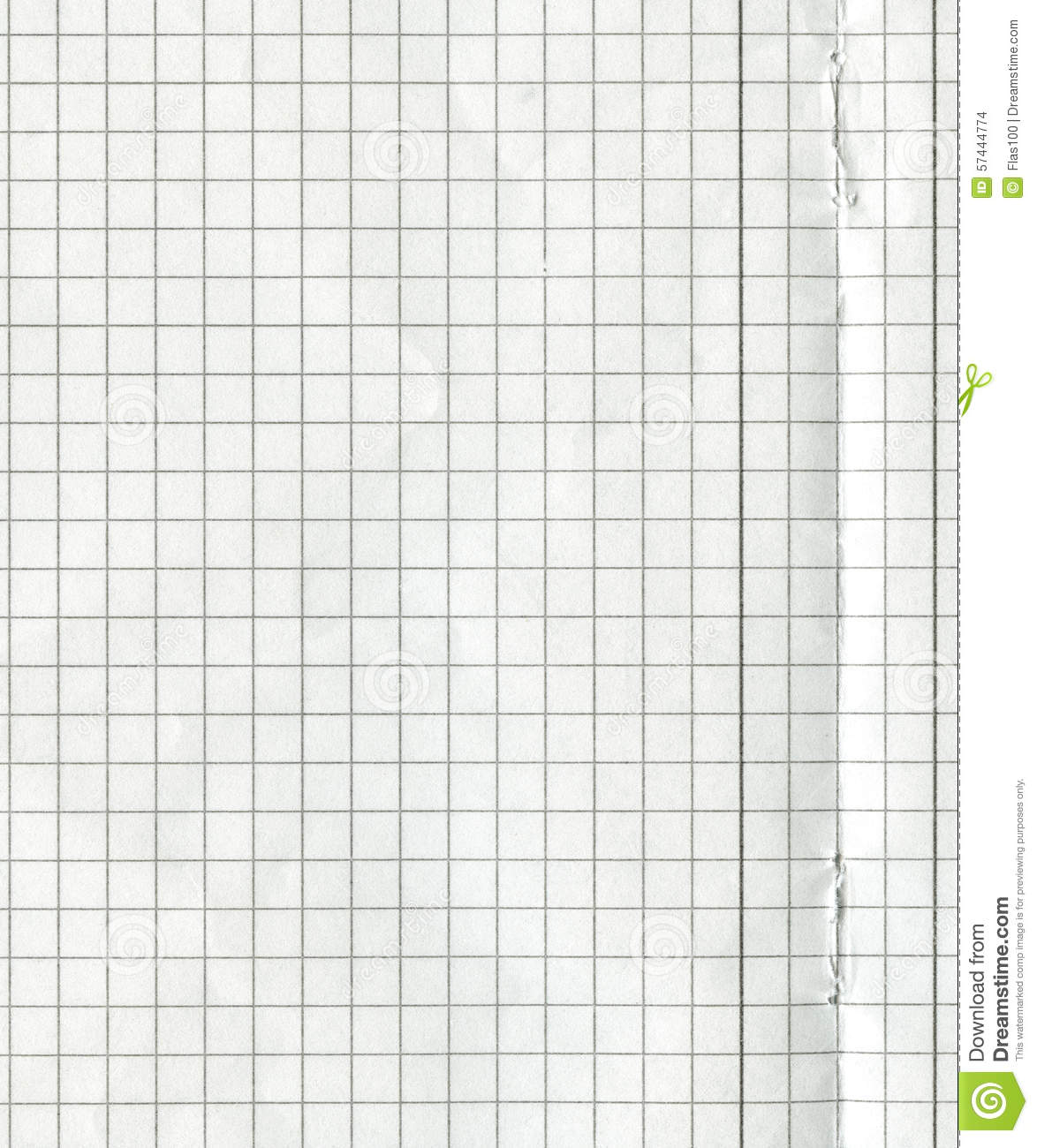 Blank Math Paper Stock Photo Image Of Texture Paper