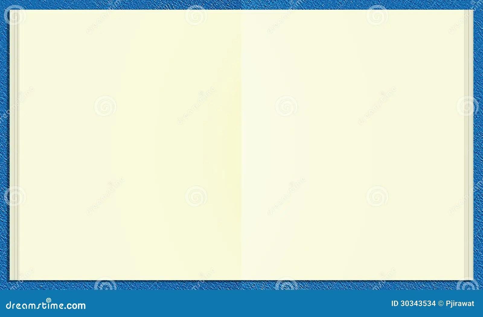 Blank Worksheet Book Stock Images