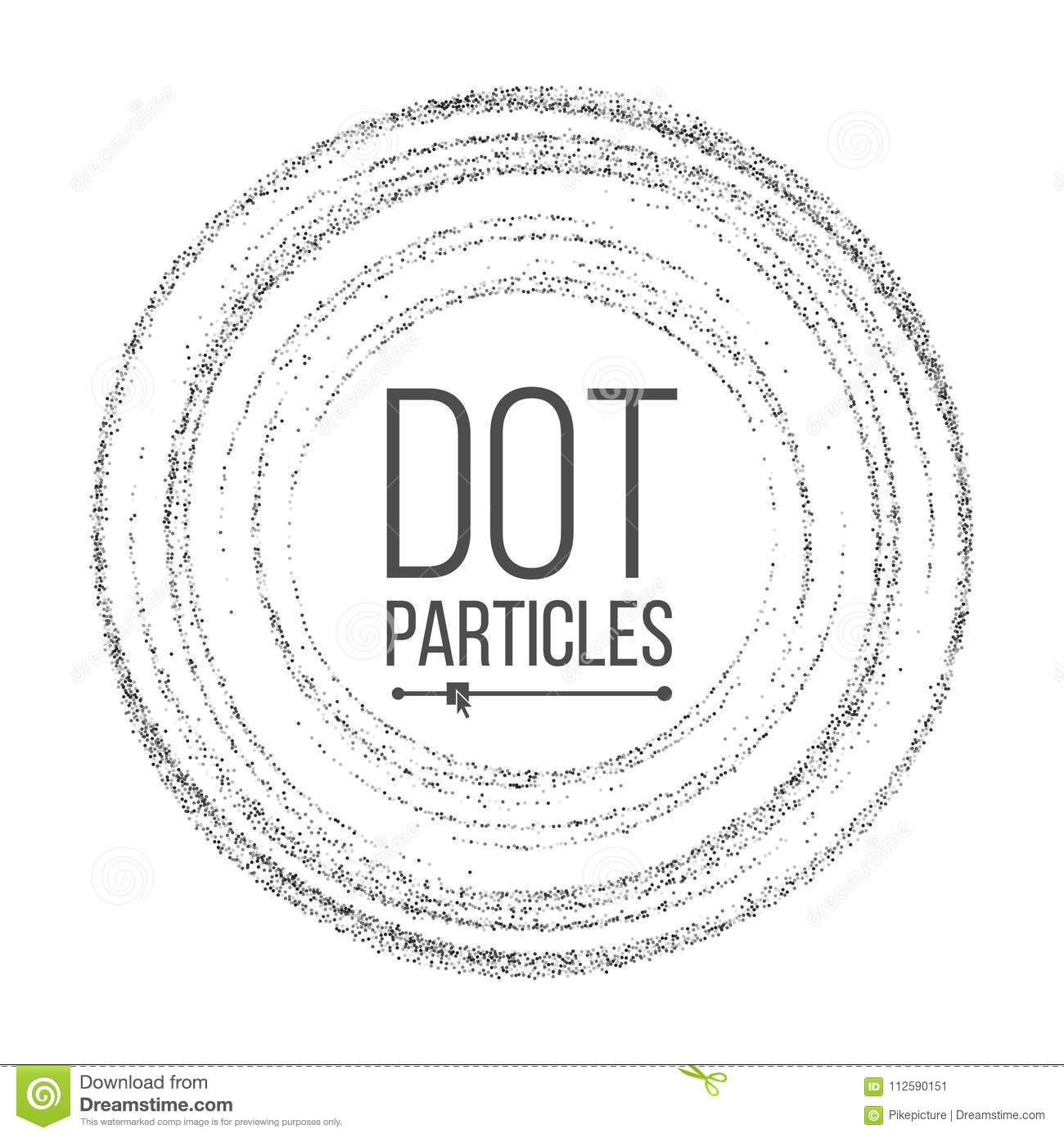 Dotwork Background Vector Dynamic Energy Particles