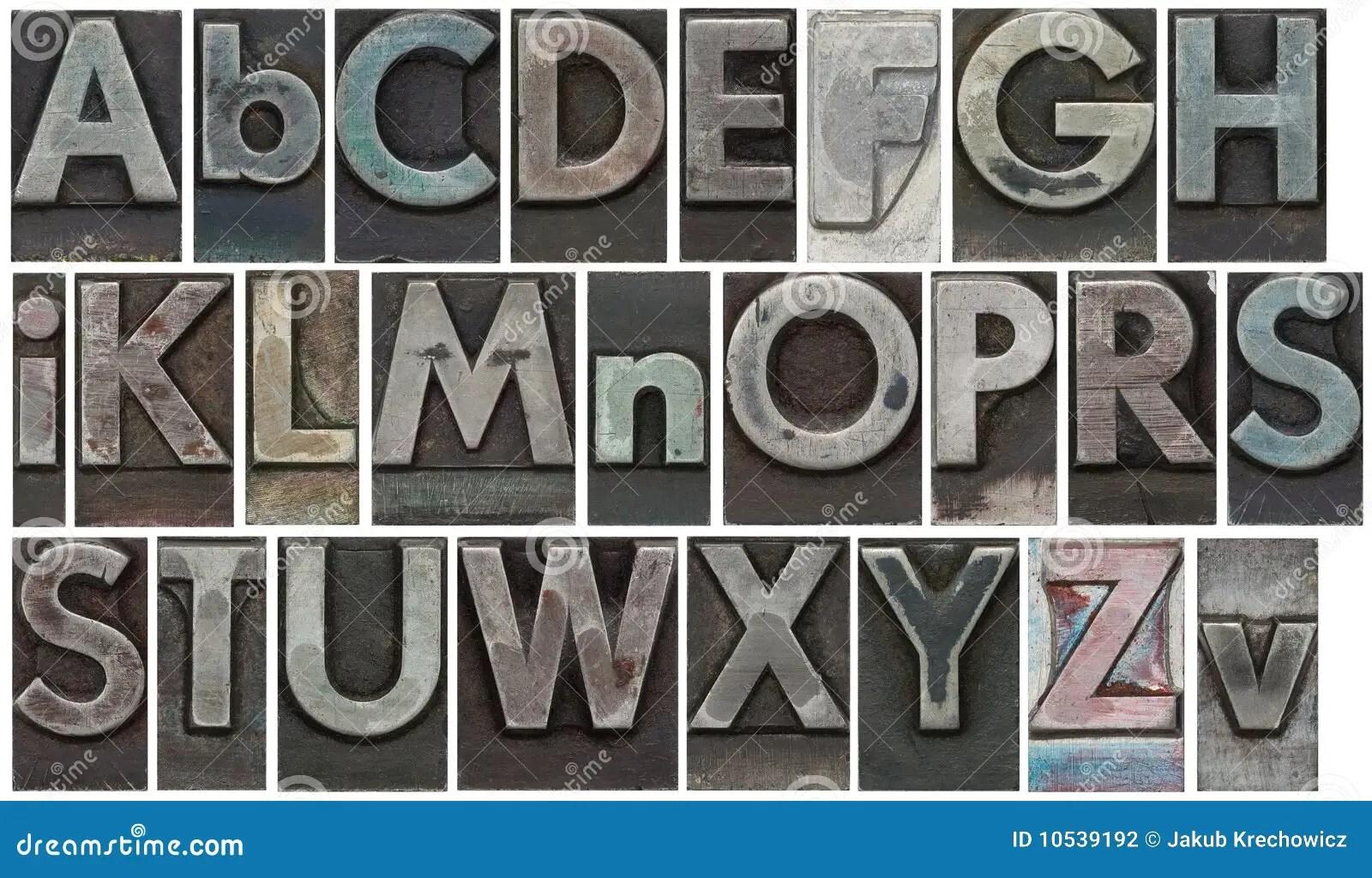 Black And White Alphabet Blocks