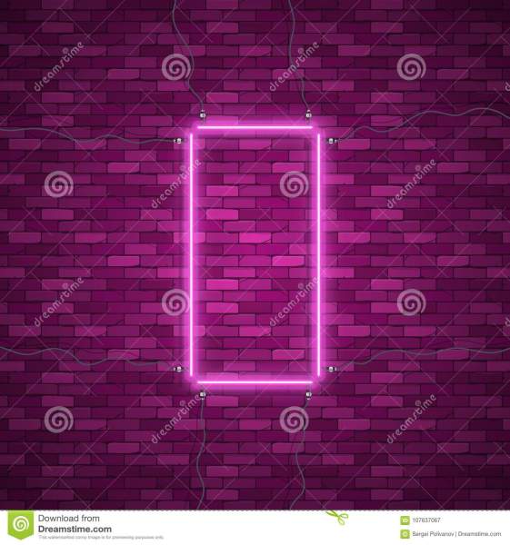 Blue Abstract Neon Square Shape Stock Vector   Illustration of     Download comp