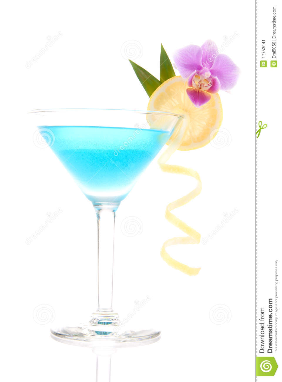 Blue Lagoon Cocktail Stock Image Image Of Juice Gourmet 17753041