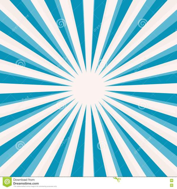 Blue Star Shaped Retro Background Stock Vector - Image ...