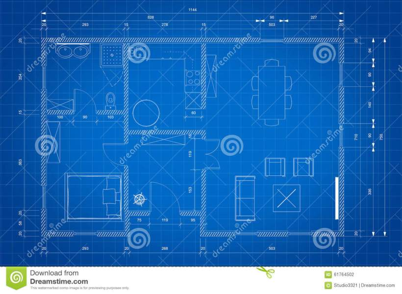 Blueprint Of Architect Plan For House Construction Stock     Download Blueprint Of Architect Plan For House Construction Stock  Illustration   Illustration of engineering  structure