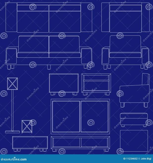 Blueprint sofa okaycreations blueprint living room furniture stock photography image 11234652 malvernweather Images