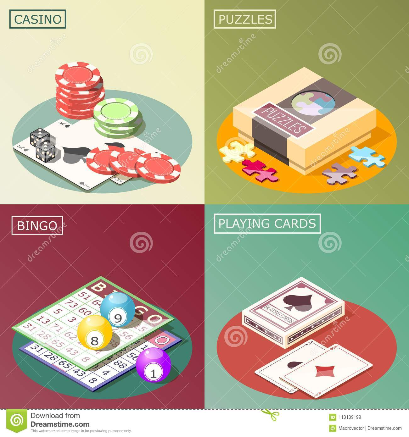 Number Puzzles Arranged In A Row Royalty Free Stock Image