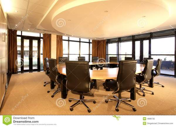 Boardroom stock image Image of inside furniture
