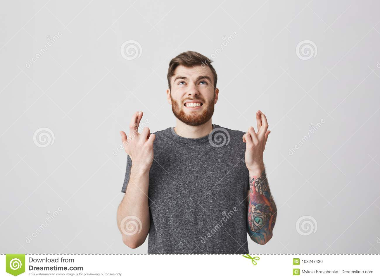Body Language Student With Angry Expression Hoping To