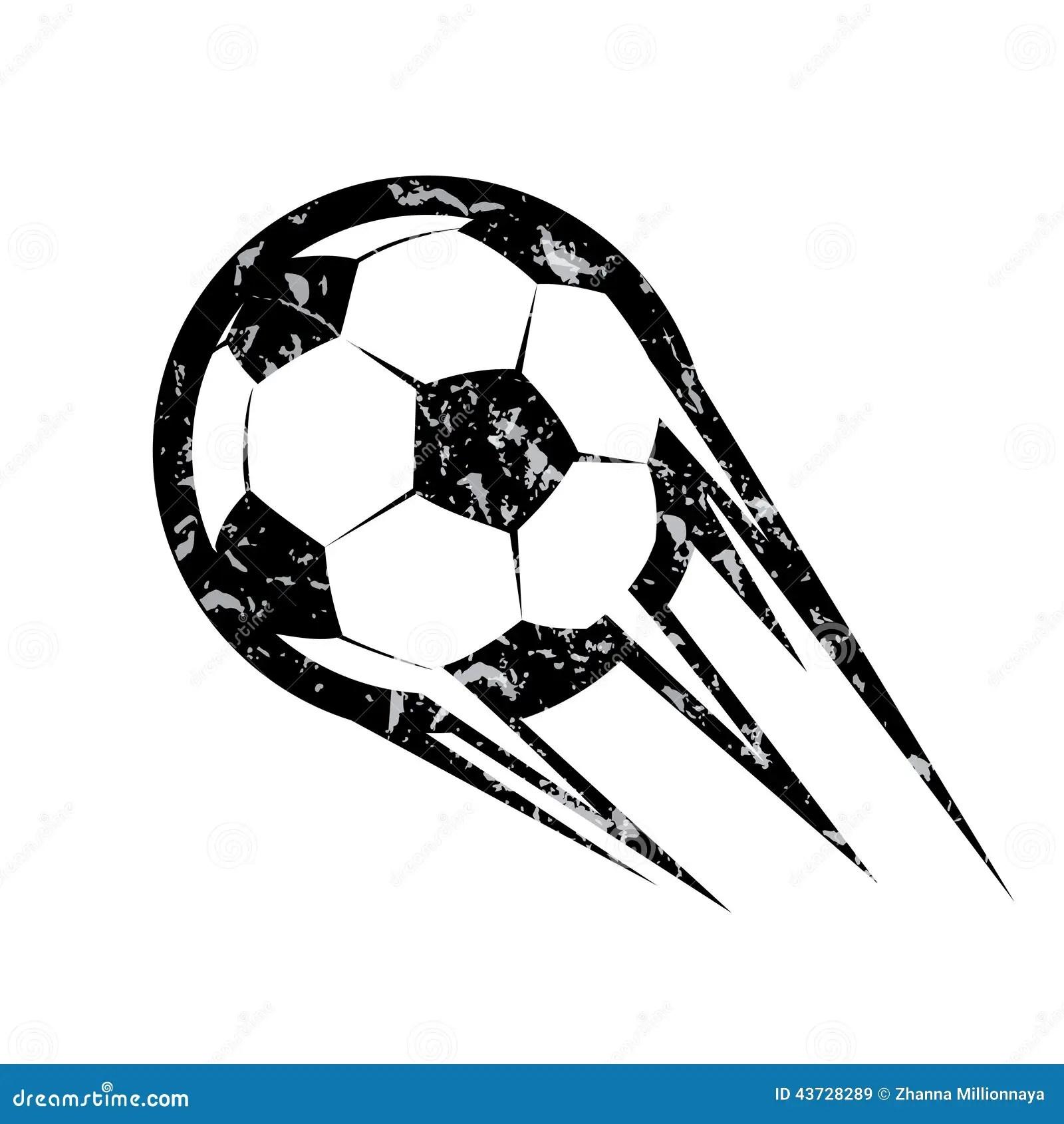 Bola De Futebol Simbolo Do Vetor Do Futebol Ilustracao Do