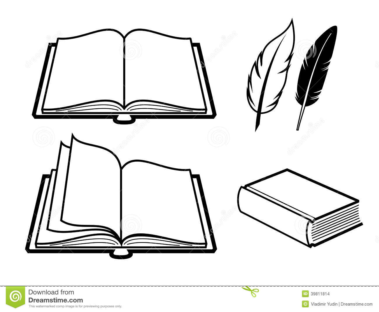 Book Icon Stock Vector Image Of Empty Textbook Icon
