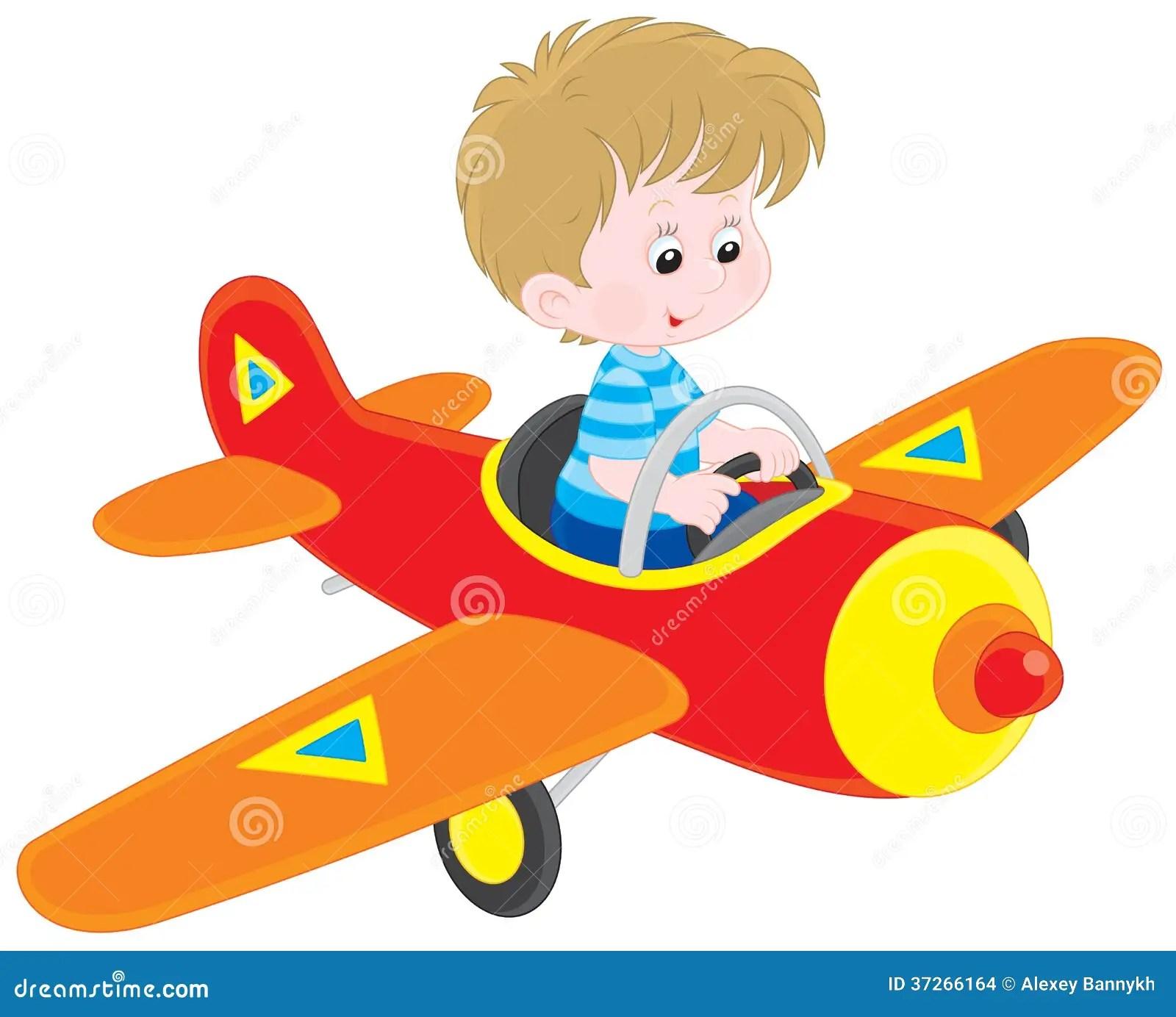 Boy Pilot Stock Illustration Illustration Of Infancy