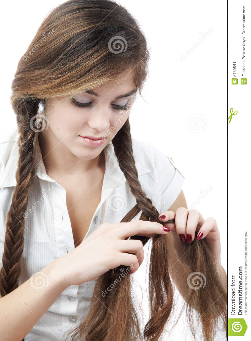 Hairstyles For Long Hair Braids Steps Page 1