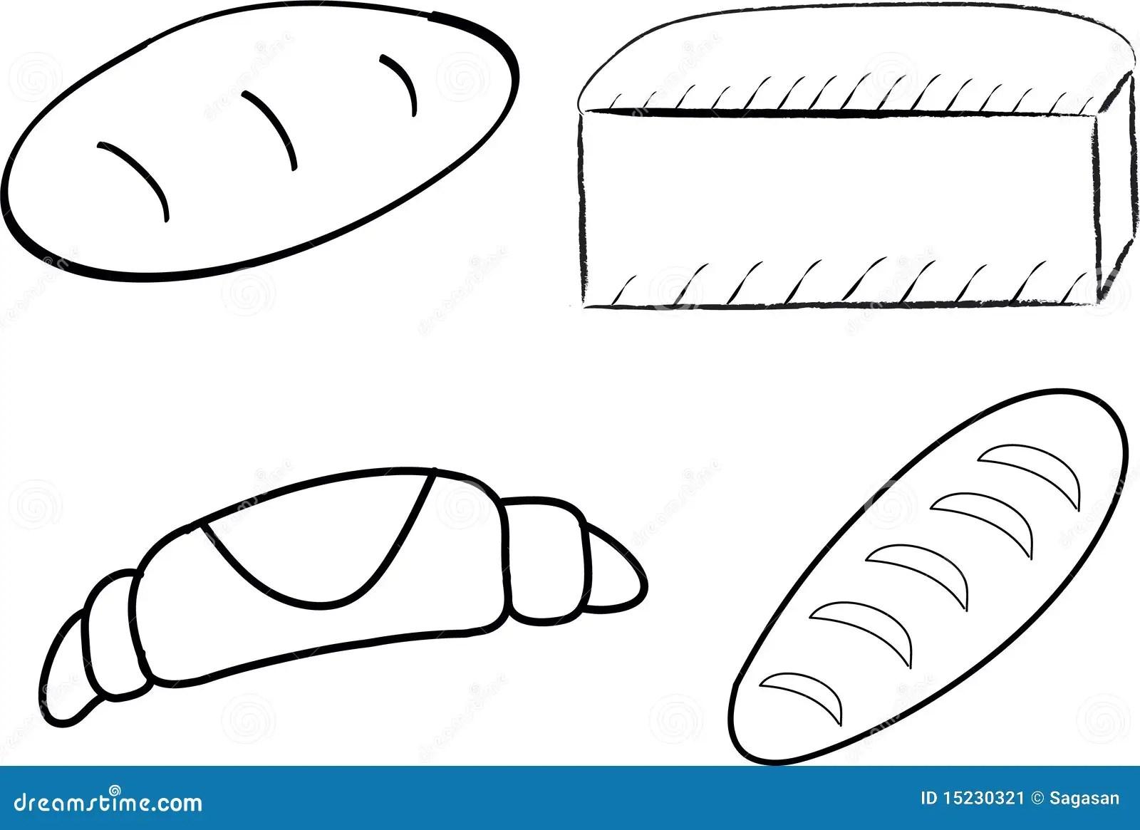 Bread Stock Vector Illustration Of Bagel Breakfast