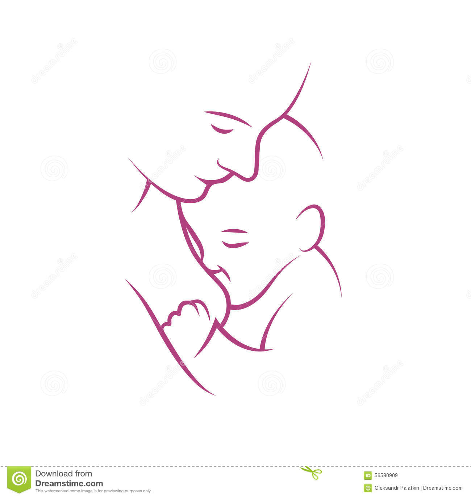 Breast Feeding Vector Sign Stock Vector Image Of Feeding