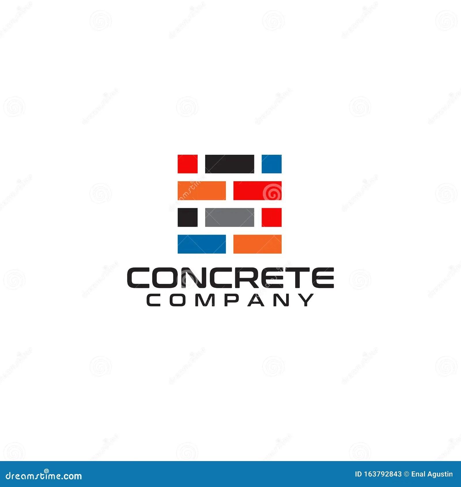 https www dreamstime com brick tile company logo design inspiration vector template brick tile company logo design vector template image163792843