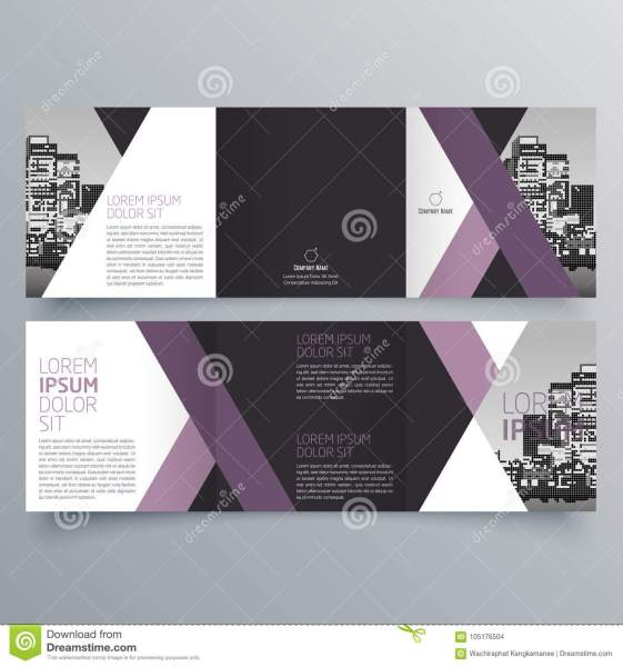 Brochure Design  Brochure Template Stock Vector   Illustration of     Download Brochure Design  Brochure Template Stock Vector   Illustration of  idea  blank  105176504